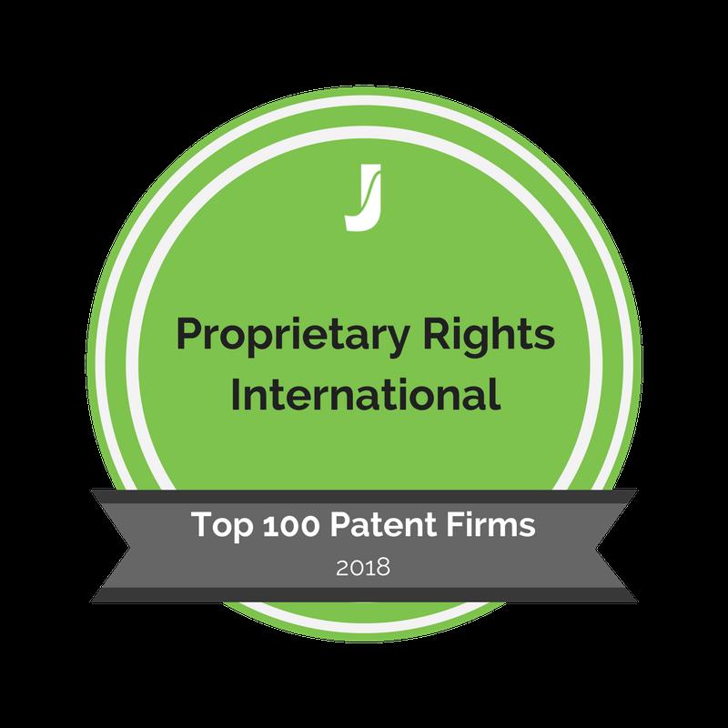 Badge - Proprietary Rights International
