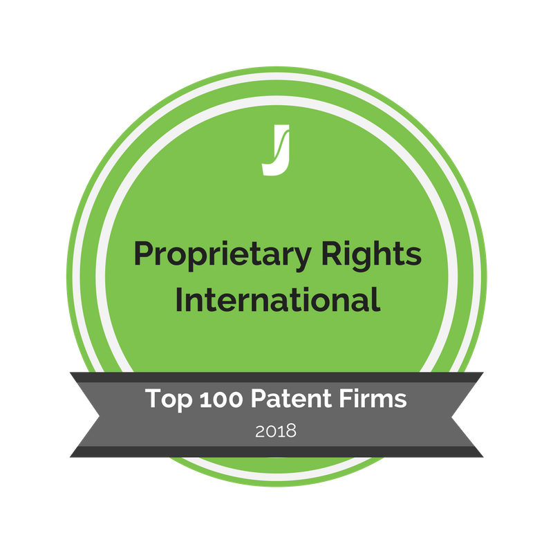 Badge - Proprietary Rights International