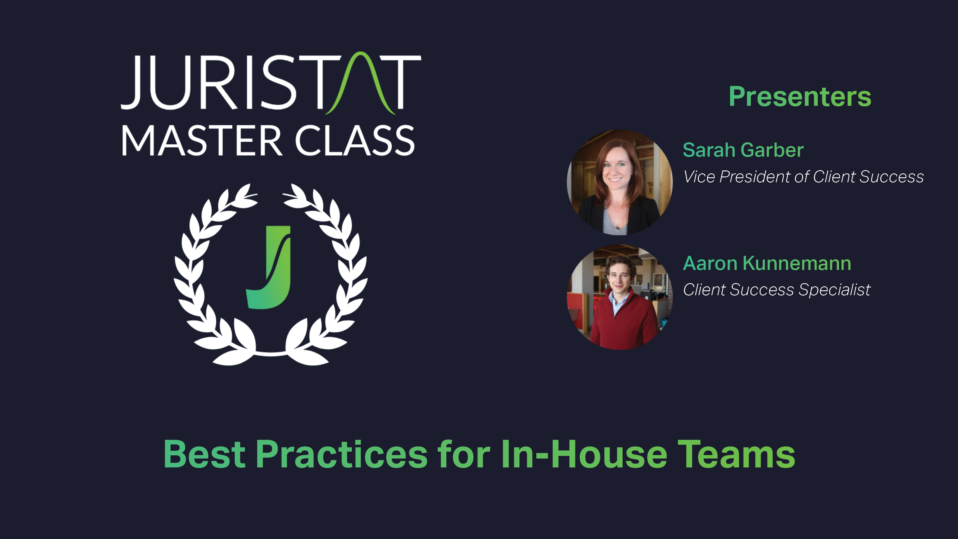 Best Practices In-House