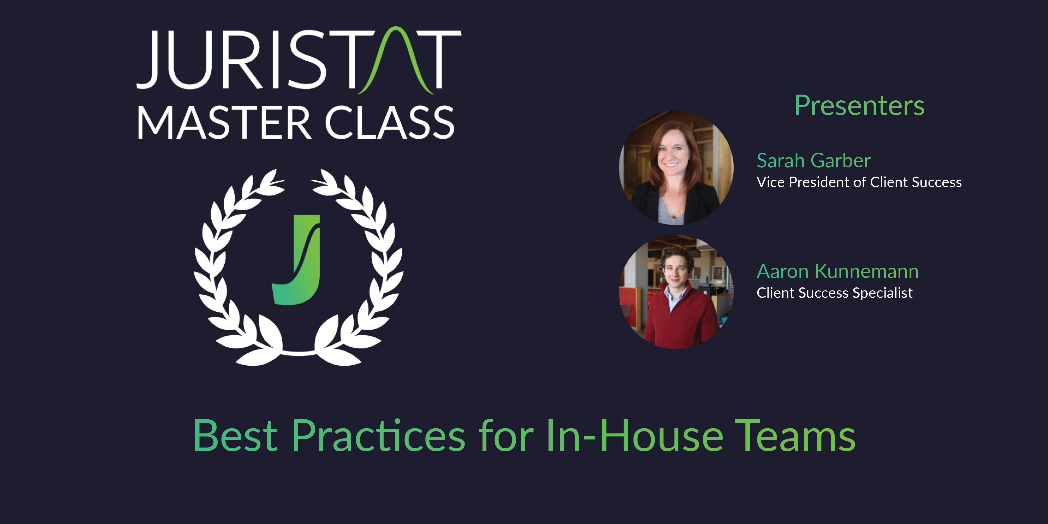 Webinar Best Practices In-House